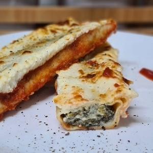 Cannelloni Spinach and Mascarpone